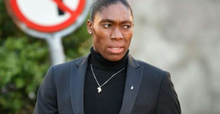 Semenya arrived at CAS for the start of the hearing on Monday.  By Harold CUNNINGHAM (AFP/File)