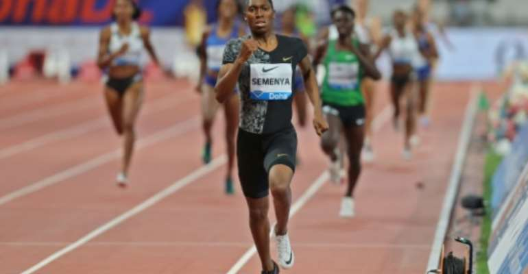 Semenya lost a court challenge against the IAAF over plans to force some women to regulate their testosterone levels.  By Karim JAAFAR (AFP)