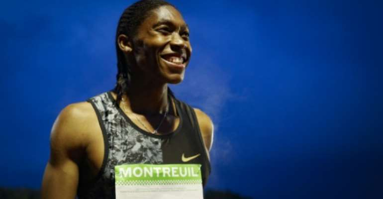 Semenya won the women's 800 metres at the 2012 and 2016 Olympics.  By GEOFFROY VAN DER HASSELT (AFP/File)
