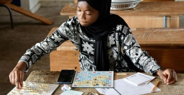 Senegal has produced several global Scrabble champions and its national squad has several times been crowned champions of Africa.  By Seyllou (AFP)