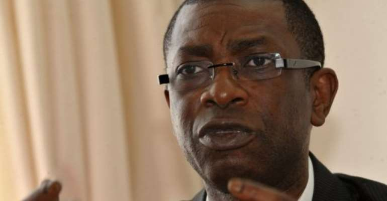 Senegalese singer Youssou Ndour.  By Seyllou (AFP/File)