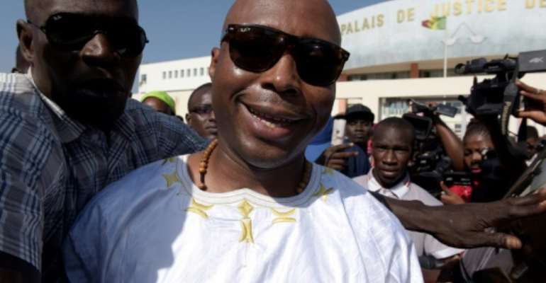 Senegalese MP Barthelemy Dias is a leading supporter of jailed Dakar mayor Khalifa Sall.  By SEYLLOU (AFP/File)
