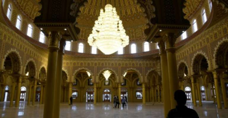 Senegal's government donated the land for the mosque and helped pay for infrastructure work.  By SEYLLOU (AFP)