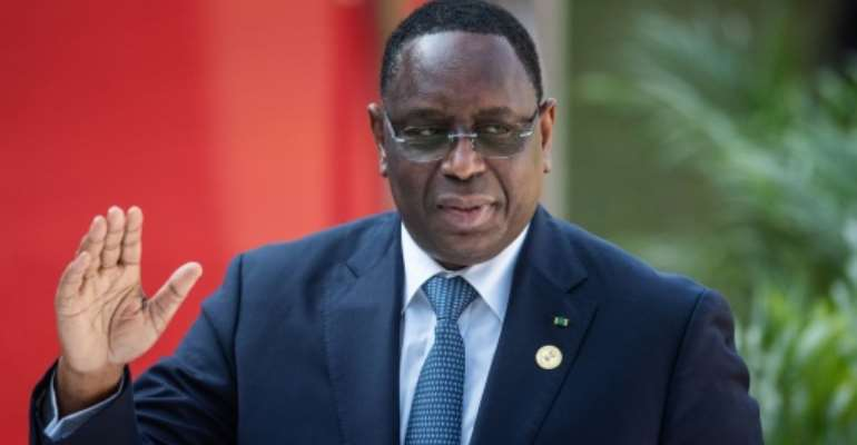 Senegal's President Macky Sall has dismissed the report implicating his brother as an attempt to destabilise the country.  By Michele Spatari (AFP)