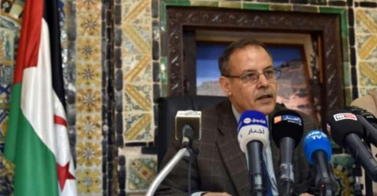 Senior Polisario Front figure Mhamed Khadad has died after a long illness.  By RYAD KRAMDI (AFP/File)