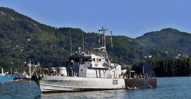 Somalia pirates have enlarged their field of operations into the Indian Ocean, including towards the Seychelles.  By Srdjana Janosevic (AFP)