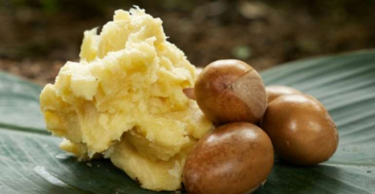 Shea butter and shea nuts can end up in chocolate, margarine, cooking oil and cosmetics.  By Ifiok Ettang (AFP/File)