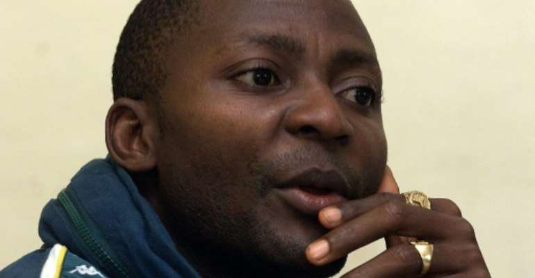 Sierra Leonean national Gibril Massaquoi is accused of crimes including murder, rape, torture, enslavement and using child soldiers.  By Georges GOBET (AFP/File)