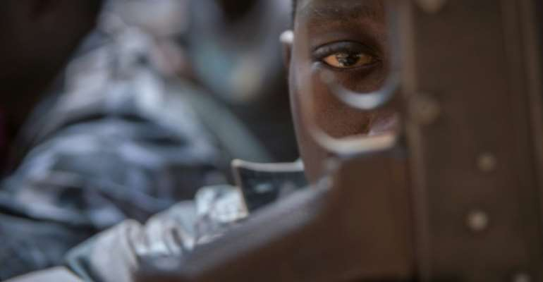 Since 2013, South Sudan's cvil war has claimed tens of thousands of lives. Nearly four million people -- roughly a third of the population -- have been fled their homes.  By Stefanie Glinski (AFP)