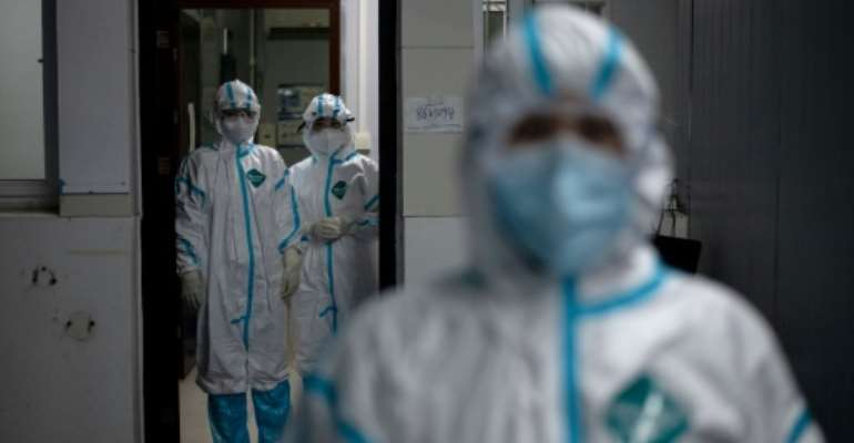 Since emerging in China in December, COVID-19 has spread across the globe, claiming over 43,000 lives and infecting more than 860,000 people.  By NOEL CELIS (AFP)
