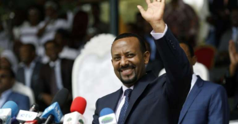 Since taking office in April 2018, Abiy has aggressively pursued policies that have the potential to upend Ethiopian society.  By Zacharias Abubeker (AFP)