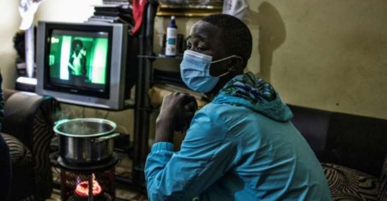Sinoyolo said it was good the Ukwaluko had been postponed over the coronavirus.  By MARCO LONGARI (AFP)
