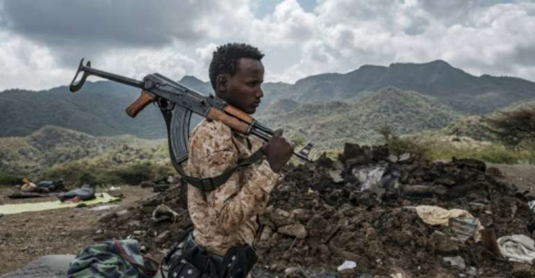 Soldiers from Afar were involved in the central government's November 2020 push into Tigray.  By EDUARDO SOTERAS (AFP/File)