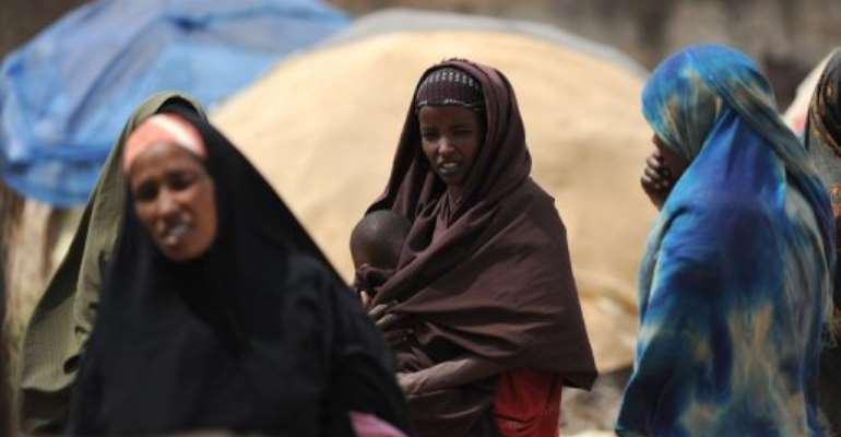Little influence from the Somali government is felt in Baidoa.  By Simon Maina (AFP)