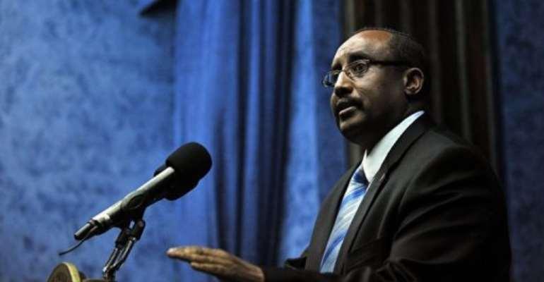 Abdiweli Mohamed Ali.  By Tony Karumba (AFP/File)