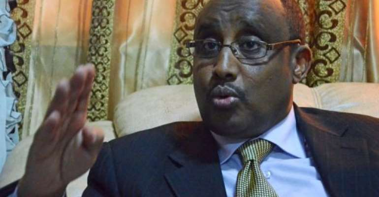 Abdiweli Mohamed Ali says the suicide attackers