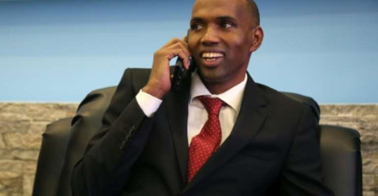 Somali Prime Minister Hassan Ali Kheyre has been in a parliamentary no-confidence vote over the nation's 2021 election plans.  By STRINGER (AFP/File)