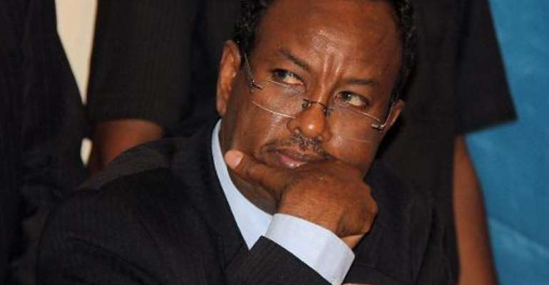Somalia's Prime Minister Abdi Farah Shirdon, pictured after his appointment on October 6, 2012, in Mogadishu.  By Abdurashid Abdulle (AFP)