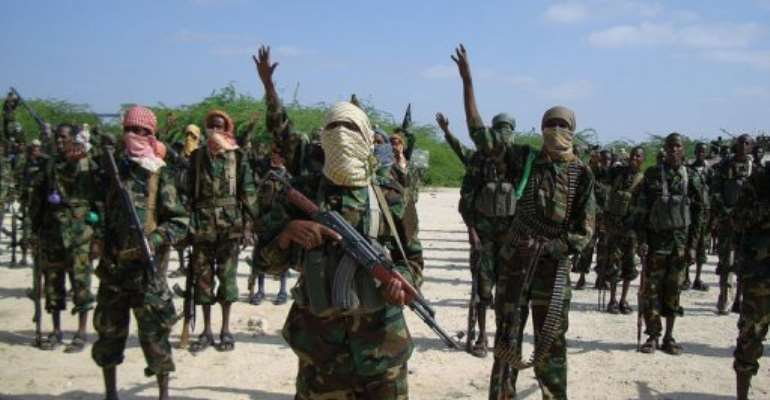 Hardline Shebab insurgents control much of southern Somalia.  By  (AFP/File)