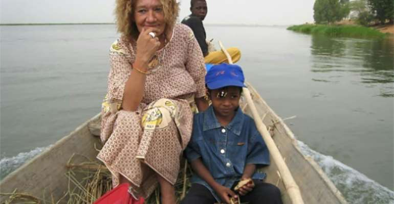 Sophie Petronin, seen here in an undated photo, was running a charity helping orphans when she was kidnapped by armed men in Gao, northern Mali, in December 2016.  By Handout (www.liberons-sophie.fr/AFP/File)