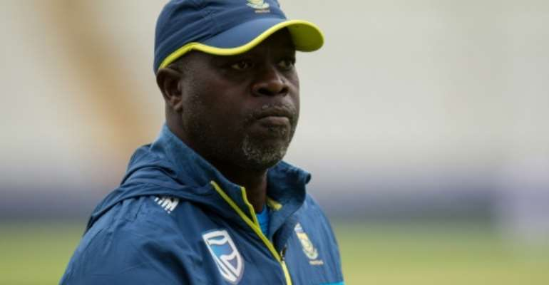 South Africa coach Ottis Gibson.  By OLI SCARFF (AFP/File)