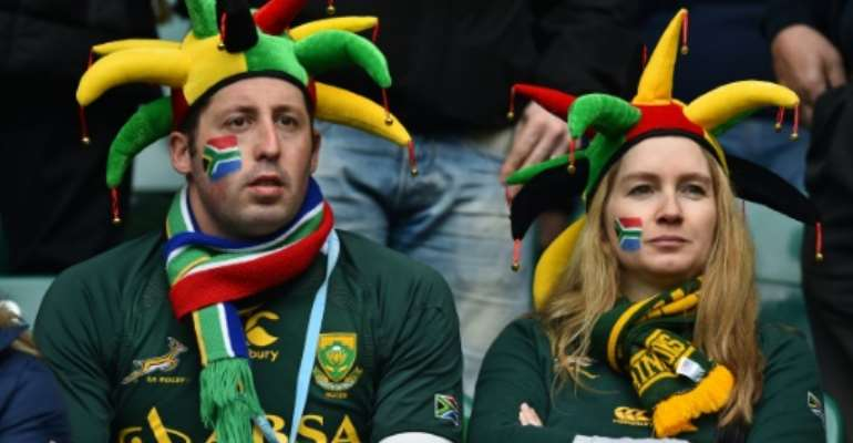 South Africa face a new-look Italy XV in Florence on Saturday a week after a first loss to England since 1996 heaped further pressure on embattled coach Allister Coetzee.  By Ben Stansall (AFP/File)