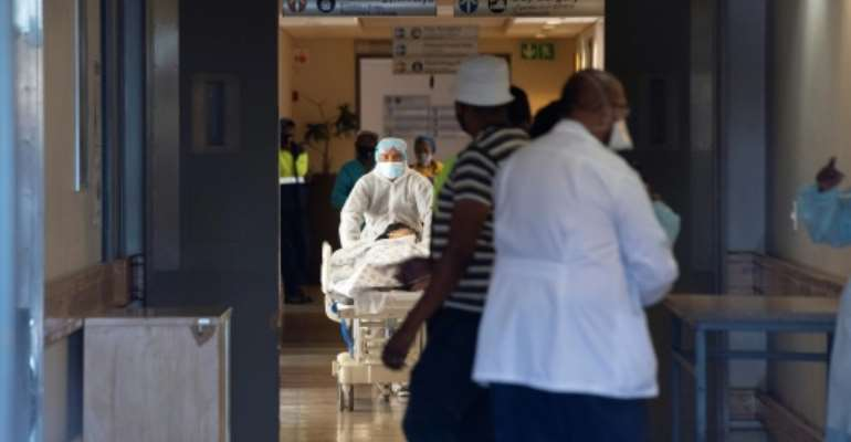 South Africa has recorded more cases than any other country on the continent and has also suffered more deaths.  By RODGER BOSCH (AFP/File)