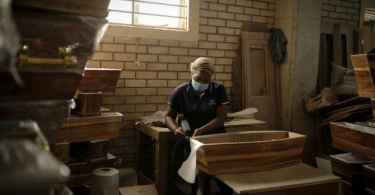 South Africa has recorded nearly 39,000 Covid deaths and is battling a second wave of infections.  By Guillem Sartorio (AFP/File)