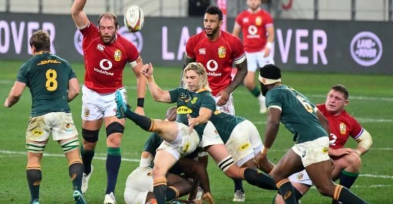 South Africa must come from one down in the series to beat the British and Irish Lions after losing the opener in Cape Town on Saturday.  By RODGER BOSCH (AFP)