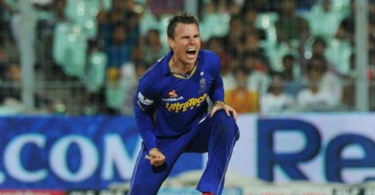 South African offspinner Johan Botha will captain the Redbacks for the next two seasons.  By Dibyangshu Sarkar (AFP/File)