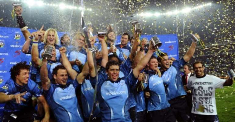 South Africa's Bulls won the then Super 14 title in 2010.  By GIANLUIGI GUERCIA (AFP)