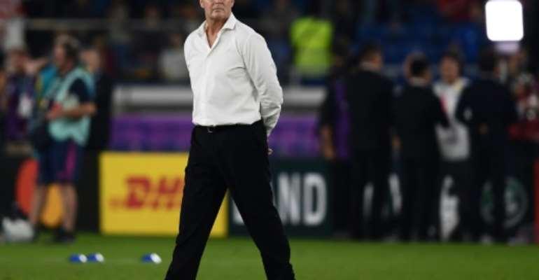 South Africa's head coach Rassie Erasmus described the semi-final as