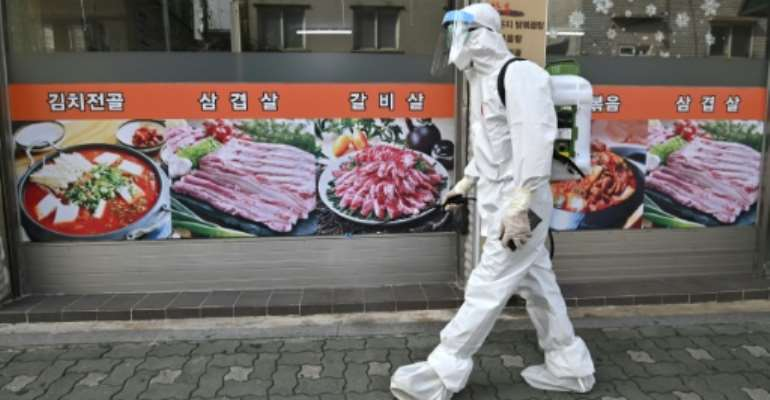 South Korea has announced heightened restrictions to try to control a new outbreak.  By Jung Yeon-je (AFP/File)