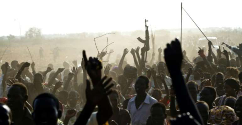 South Sudan descended into war in 2013, just two years after it gained independence.  By Ivan Lieman (AFP/File)