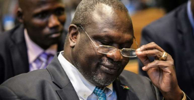 South Sudan's rebel leader Riek Machar is due to serve as vice president in a new government.  By Michael Tewelde (AFP/File)