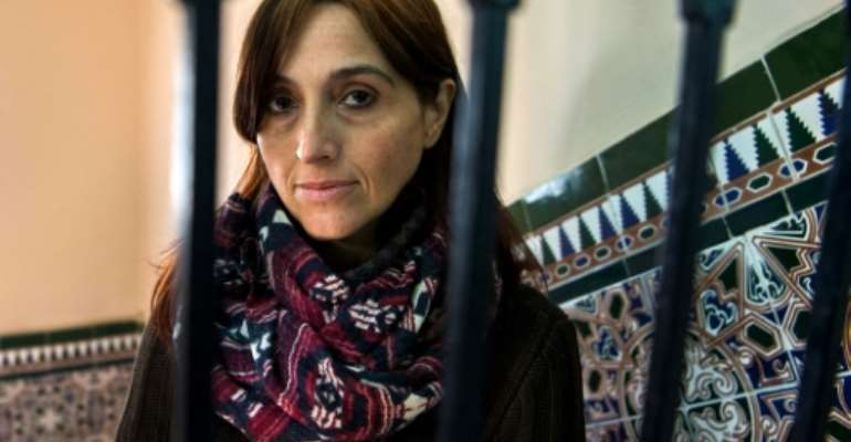 Spanish activist Helena Maleno is accused of being involved in facilitating illegal immigration.  By FADEL SENNA (AFP/File)