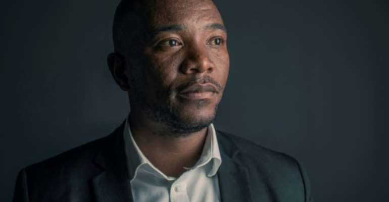 Stepping down: Democratic Alliance leader Mmusi Maimane.  By GIANLUIGI GUERCIA (AFP/File)