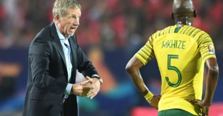 Stuart Baxter has had two spells in charge of South Africa.  By OZAN KOSE (AFP/File)