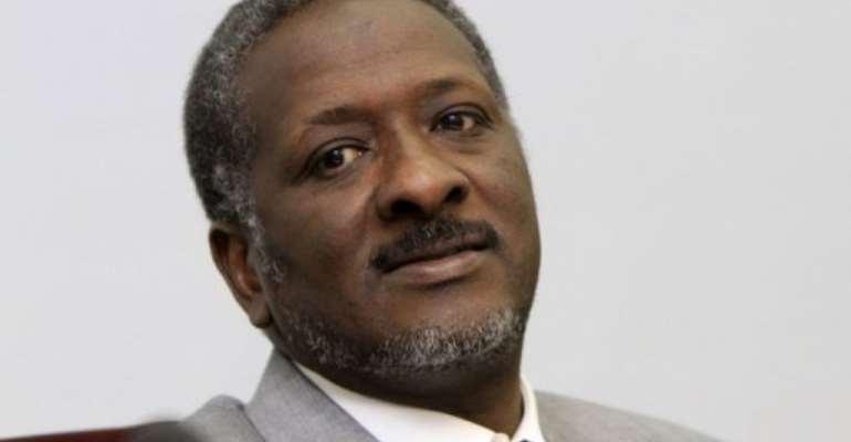 Sudan's Finance Minister Ali Mahmud al-Rasul.  By  (AFP/File)