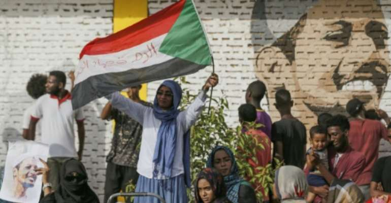 Sudanese protest leaders signed a power sharing deal with the country's army rulers on Wednesday.  By ASHRAF SHAZLY (AFP/File)