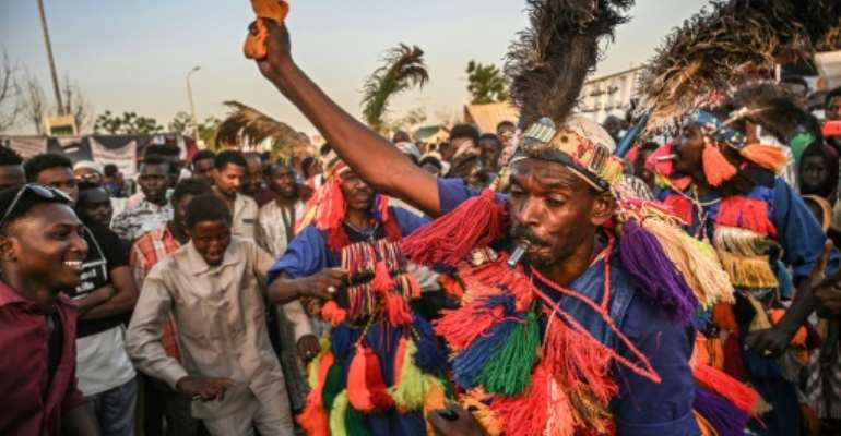 Sudanese protesters have rallied for weeks outside army headquarters in Khartoum demanding a civilian government.  By OZAN KOSE (AFP)