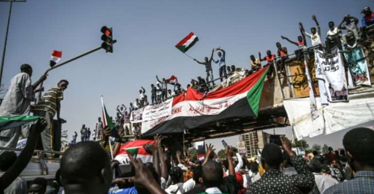 Sudanese protesters have seen president Omar al-Bashir ousted from power after three decades and are now pushing for the army to hand over control.  By OZAN KOSE (AFP)