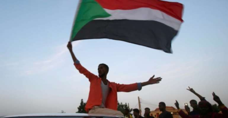 Sudanese protesters held months of street rallies leading to the overthrow of veteran leader Omar al-Bashir in April.  By ASHRAF SHAZLY (AFP/File)