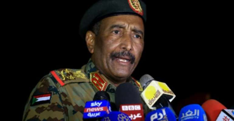 Sudan's military ruler, General Abdel Fattah al-Burhan, has reacted angrily to criticism from civilians in the transitional government of the army's continuing hold on the economy.  By ASHRAF SHAZLY (AFP/File)