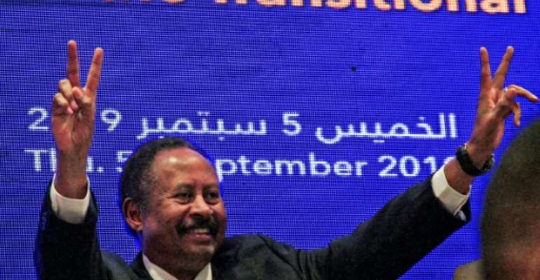 Sudan's new Prime Minister Abdalla Hamdok has formed a government comprising 18 ministers including the country's first ever female foreign affairs minister.  By Ebrahim HAMID (AFP/File)