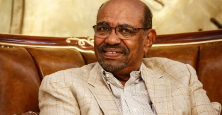 Sudan's President Omar al-Bashir has faced the biggest challenge to his three-decade rule.  By ASHRAF SHAZLY (AFP/File)