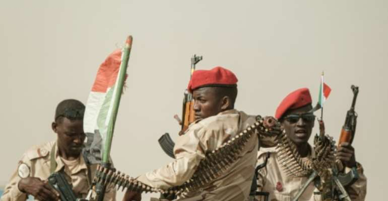 Sudan's Rapid Support Forces paramilitaries have been patrolling the streets since a deadly June 3 crackdown on protests.  By Yasuyoshi CHIBA (AFP/File)