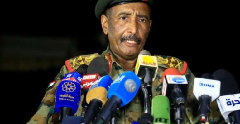 Sudan's ruling civilian-military council took power in a country facing severe economic difficulties.  By ASHRAF SHAZLY (AFP)