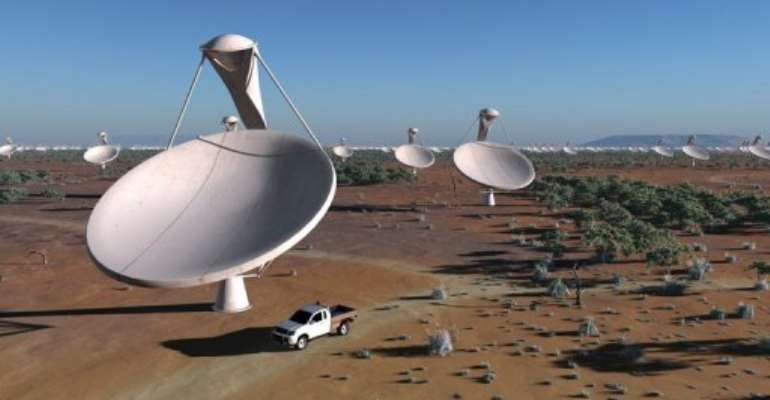 SAFRICA-SCIENCE-SPACE-RESEARCH-TELESCOPE.  By - (AFP/File)