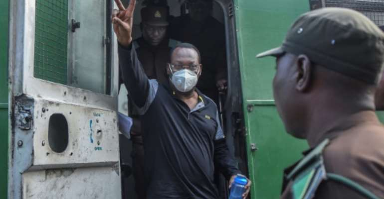 Supporters of Freedom Mbowe and his Chadema party have denounced his arrest as a politically-motivated move to silence dissent.  By STRINGER (AFP/File)